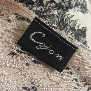 Cejon Accessories - New with tags. Lightweight shaw